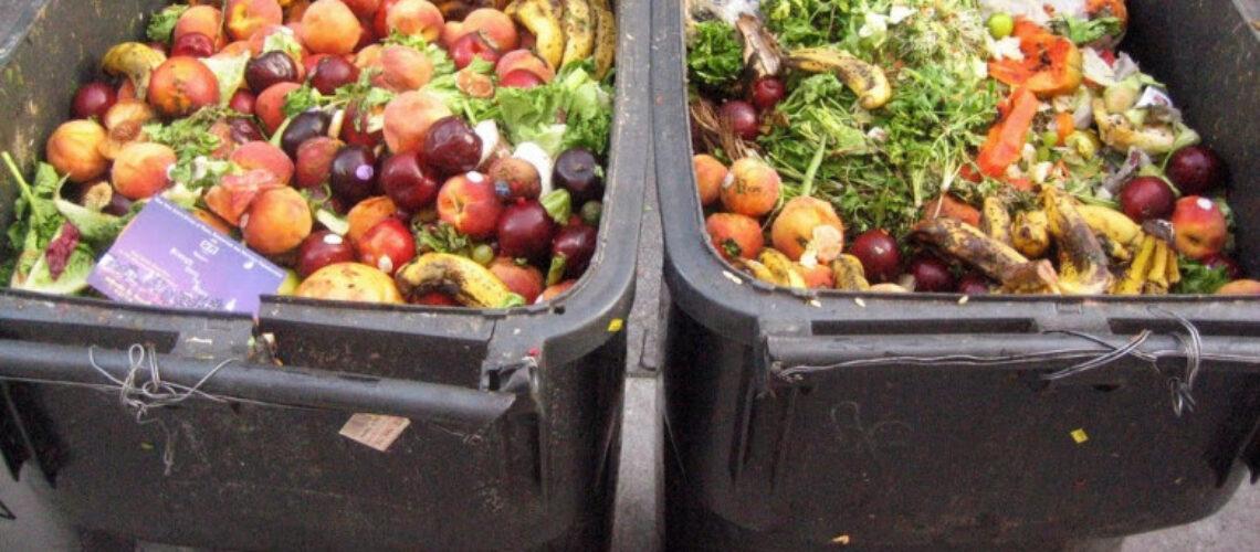 Aerul poluat din cauza risipei alimentare